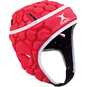 RPBD15Headguard Falcon Red White Headguard