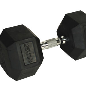RD0005, Rubber Hexagonal Dumbbells